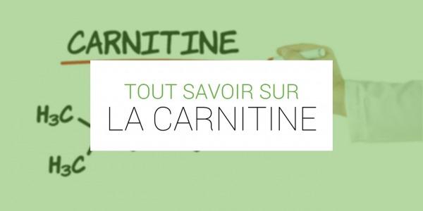 A quoi sert la L-carnitine ?